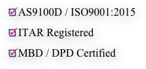 AS9100D / ISO9001:2015